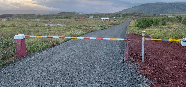 Rafhliðið kjálkabrotið 1. ágúst 2020